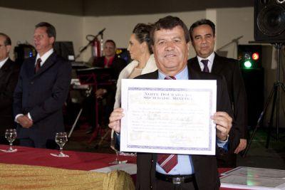 Dr. Marco Antônio Sousa Leão, reitor da Unifor – Gente de Expressão  MG 2014