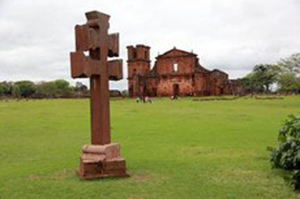Remanescentes missioneiros de São Miguel Arcanjo, no Brasil, foram inscritos na Lista do Patrimônio Mundial em 1985