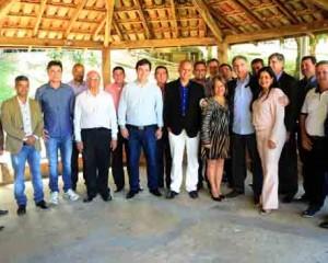 Governador anuncia investimentos pelo Funcafé e na área da saúde ao instalar o Fórum de Governo do Caparaó em Manhuaçu . Foto Marcelo Sant'Anna/Imprensa MG