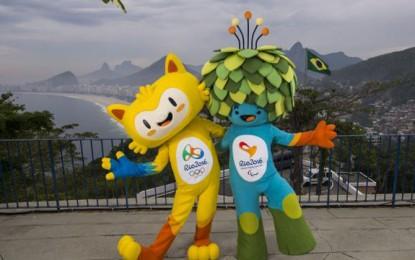 Mascotes das Olimpíadas 2016