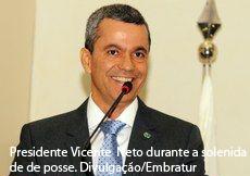 Vicente Neto toma posse como presidente da Embratur