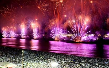 Revéillon de Copacabana deverá reunir 2,3 milhões de pessoas e será transmitido para outros países
