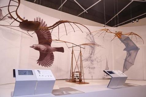 Exposição apresenta lado projetista de Leonardo Da Vinci: Um dos destaques da mostra Leonardo Da Vinci